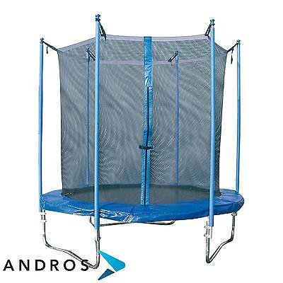 GARLANDO COMBI S - trampoline Outdoor 183 cm + safety net