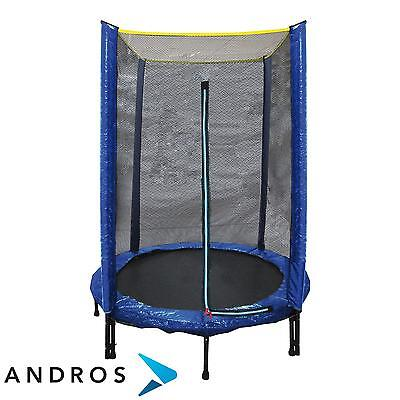 GARLANDO COMBI XS - trampoline Outdoor 140 cm + safety net