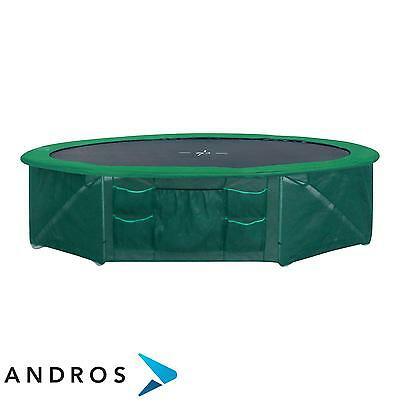 GARLANDO Safety net base trampoline 366 cm