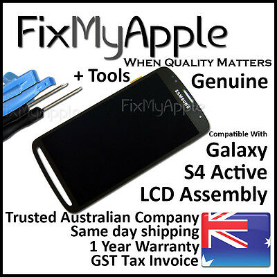 Samsung Galaxy S IV S4 Active i9295 Original Black LCD Touch Screen Assembly New
