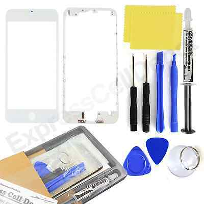 for White Apple iPhone 6S Front Outer LCD Touch Screen Glass Replacement kit