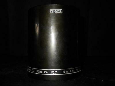 """Buhl Optical f:2.7 10"""" Inch EFL 689-10 Projection Lens (Projector Lense)"""