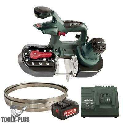 Band Saw (Bare) with 5.2ah Battery & Charger Metabo 613022850 New