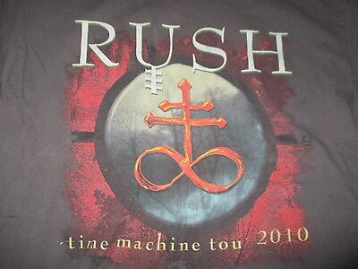 "2010 RUSH ""TIME MACHINE"" Concert Tour (LG) T-Shirt"