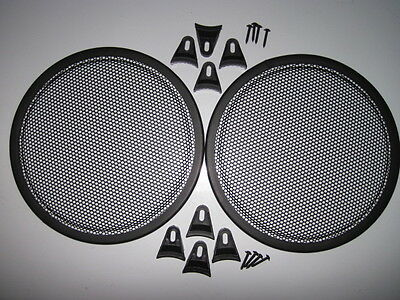 15 inch Speaker Grill. small round holes. Set