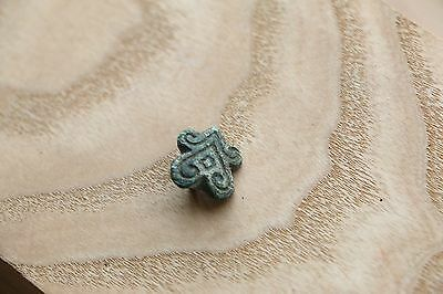 Kievan Rus Viking Bronze Part of Belt Pin 9-10 AD