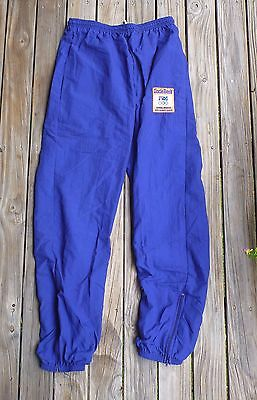 14 / Womens 1992 Olympic Team Track Gymnastics Pants Blue Uncle Bens Pre Owned
