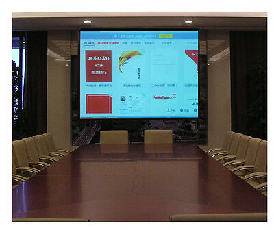 Foldable Projector Screen 100 inch for Home Cinema Business Projection  16:9