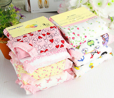 6/12Pcs Kids Baby Boys Girls Mixed Cotton Toddler Potty Training Pants Underwear