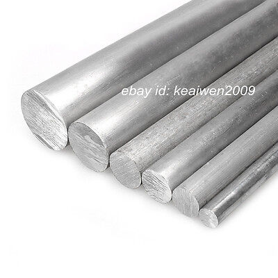 10pcs Φ5mm x 300mm ALUMINUM 6061 Round Rod D5mm Solid Lathe Bar Stock Cut Long