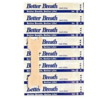 Hot 200PCS BETTER BREATH NASAL STRIPS REG OR LARGE EASIER AID TO STOP SNORING BB