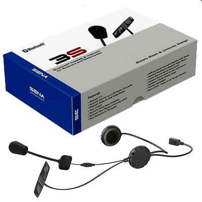 Sena 3S Bluetooth motorcycle headset with boom mic and external controls