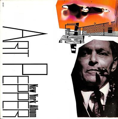 Art Pepper - New York Album; 1986; Nm 3017, Lp