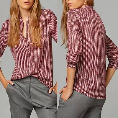 Women's Ladies Summer Loose Long Sleeve Casual Blouse Shirt Tops Fashion Blouse