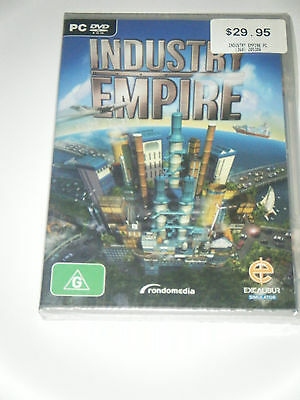 Industry Empire PC DVD game.  Brand new and sealed