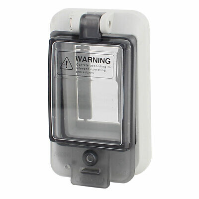 Waterproof Clear 2 Position Distribution Box Switch Cover for Circuit Breaker