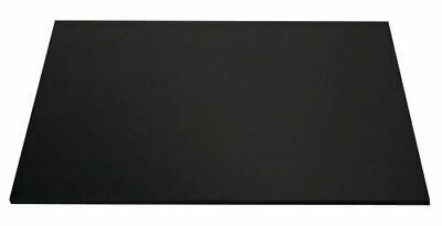 "Masonite Cake Board Black 28 x 16 "" Rectangle - 5MM Thickness Brand New 1/Pack"