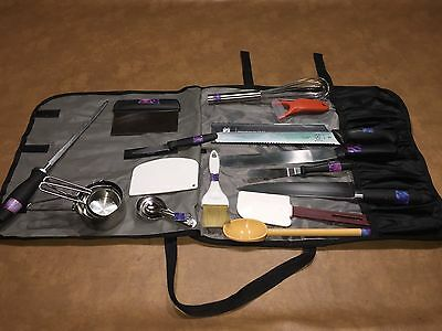 Culinary MERCER Set knifes & More w/carrying case