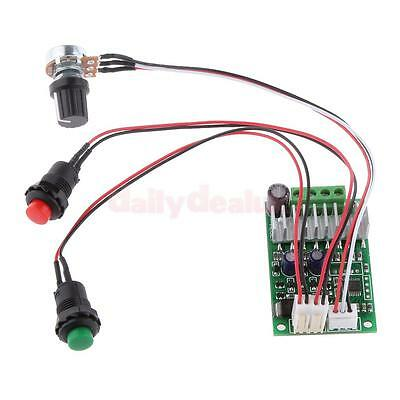 PWM Motor Speed Governor Universal DC Motor Speed Control + Reversion Switch