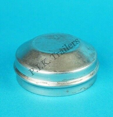 1 x 70mm Metal Grease Dust Hub Caps for Peak Trailer Wheels