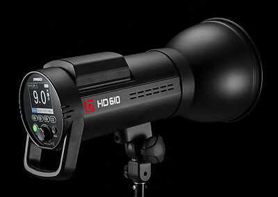 Jinbei HD610 TTL Battery Studio Strobe Flash 600Ws with HSS ,Fast flash duration