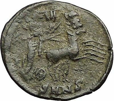 CONSTANTINE I the GREAT Cult  Heaven Horse Chariot Ancient Roman Coin i57421
