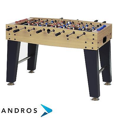 GARLANDO F-3 football table - solid rods Brown