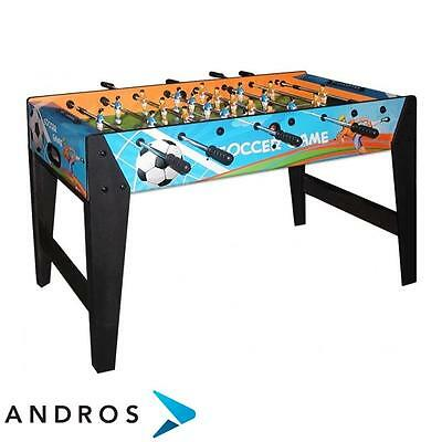 GARLANDO F-ZERO SOCCER GAME football table - telescopic rods Multicolor