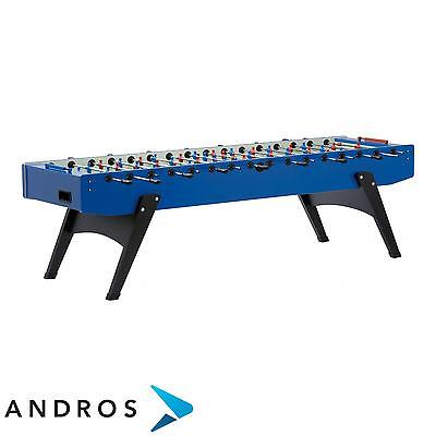 GARLANDO XXL football table- solid rods Blu
