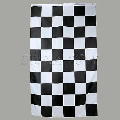 NEW 3X5FT BENTLEY RACING CHECKERED CAR STORE FLAG