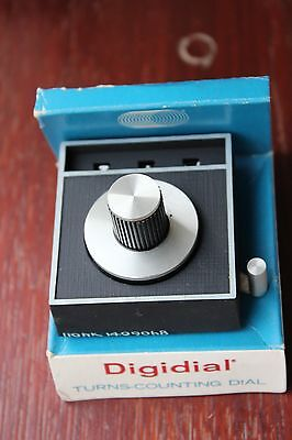 Backman Helipot Digidial Turns-Counting Dial Type 205 boxed + instructions