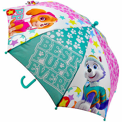 "Children's Official Licensed Girls Paw Patrol 16"" Umbrella Brand New"