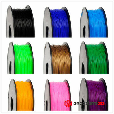 FILAMENT 3D 1 KG PLA ABS 1.75mm-3mm Compatible FDM 3D Makerbot,Mendel,Prusa...