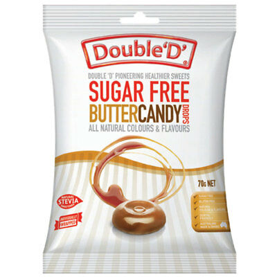 Double D Sugarfree Butter Candy 70g
