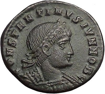 CONSTANTINE II son of  Constantine the Great Ancient Roman Coin Standard i57440