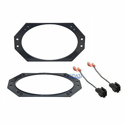 "Metra Car Audio 4"" X 6""  Speaker Adapter Plate Harness Jeep Wrangler 1997-2006"