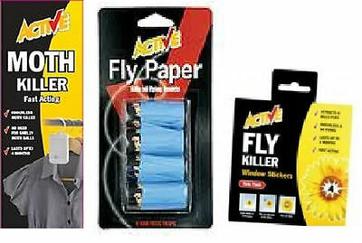 Active Moth Fly Killer Fast Acting Odourless Lasts up to 6 months