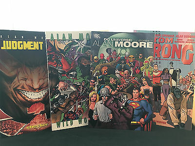 Alan Moore Graphic Novels - 4 Books Collection