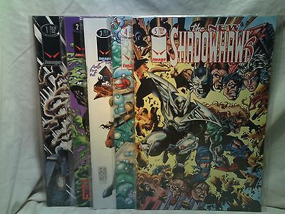 The New Shadowhawk Image Comics issues 1 2 3 4 5