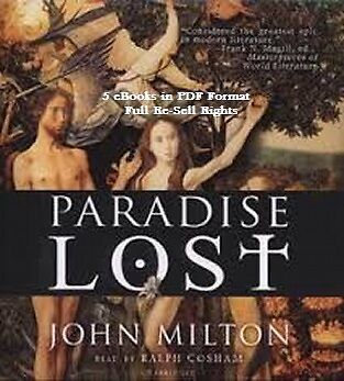 CD - John Milton Collection - 5 eBooks - (Incl.Resell Rights)