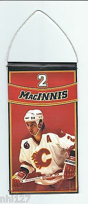 Calgary Flames NHL #2 Al MacInnis Commemorative Retirement Banner 2.27.2012