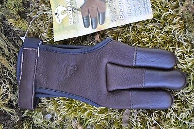 Bearpaw Deer Skin Archery Shooting Glove