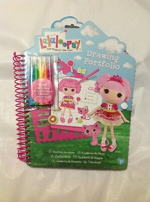 Lalaloopsy Drawing Portfolio Book And Bea Spells A Lot Pop Beads Necklace Set