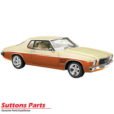 New Authentic Holden 1971 Hq Monaro Gts Orange Tang 1: 18 Model Part 43-18592