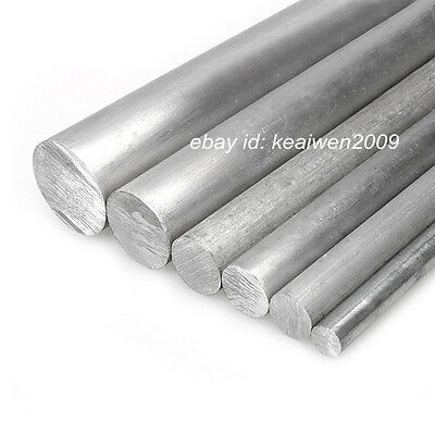 2pcs Φ20mm x 200mm ALUMINUM 6061 Round Rod D20mm Solid Lathe Bar Stock Cut Long