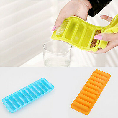 Silicone Ice Cube Tray Mold Mould Water Bottle Ice Cream Markers Tool Precious