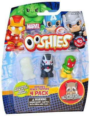 Marvel Ooshies Pencil Toppers 4 Pack (75720)