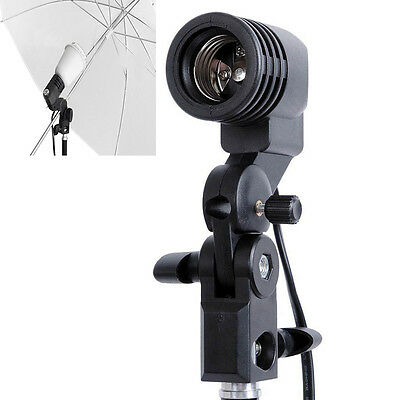 E27 AC Swivel Socket Light Stand Mount Umbrella Lamp Bulb Holder photography NEW