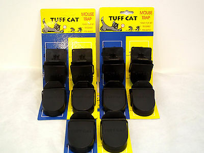 10 X Heavy Duty Mouse Traps Self Setting The Mouse Splatter- Rodents Beware