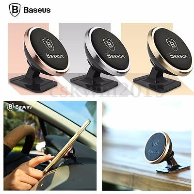 Baseus 360° Rotating Car Mount Magnetic Cradle Stand Holder For Phone Universal